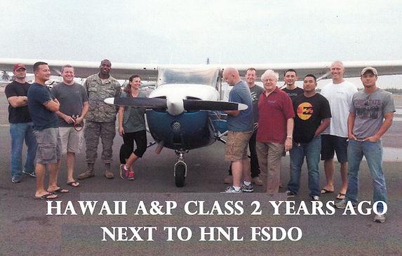 FAA Airframe & Powerplant class