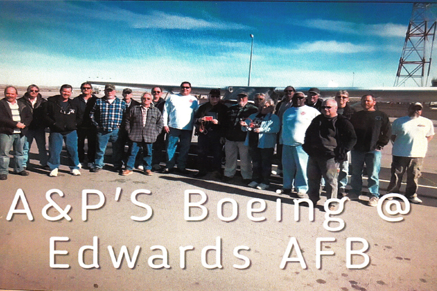 A&P course at Edwards AFB