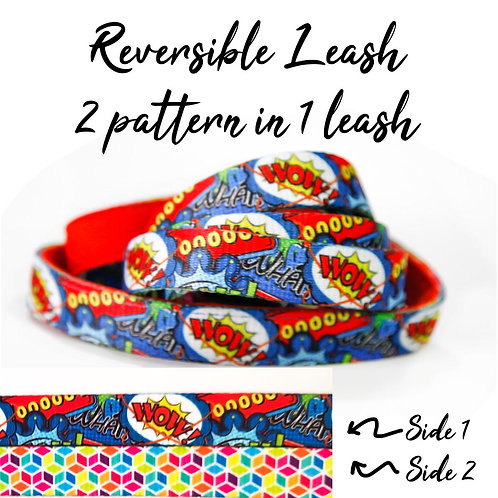 REVERSIBLE Leash – The Heroes