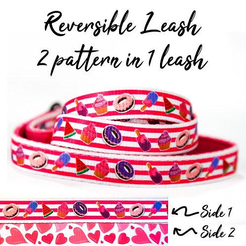 REVERSIBLE Leash – Sweet Delight