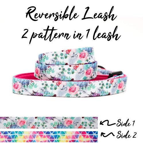 REVERSIBLE Leash – Flora Dream