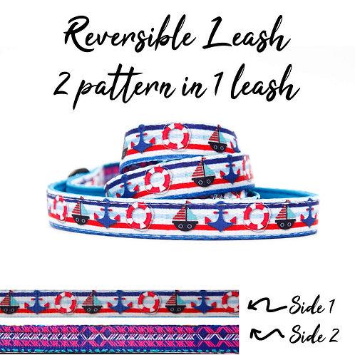REVERSIBLE Leash – Nautical Boat