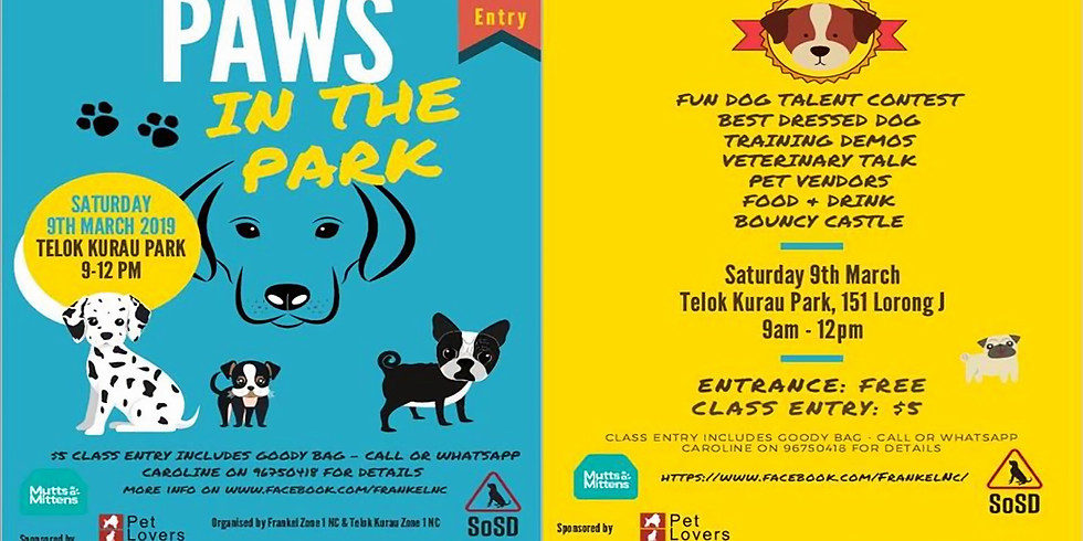Paws in the Park!