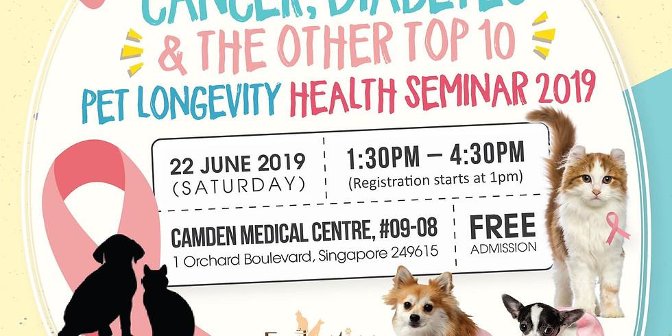 Pet Longevity Health Seminar 2019