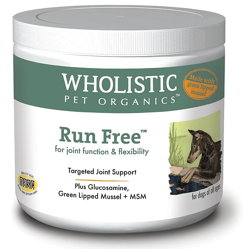 Wholistic Pet Organics Run Free + GLM