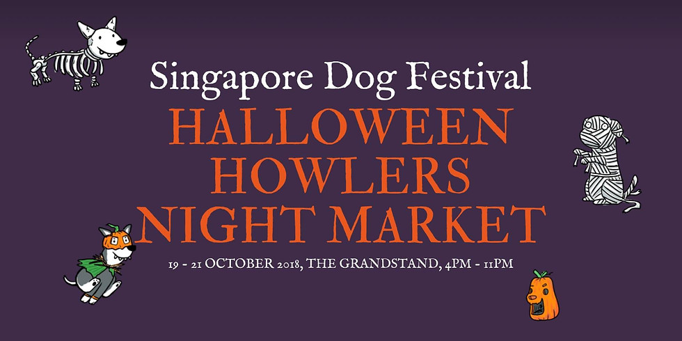 Singapore Dog Festival™ 2018: Halloween Howlers