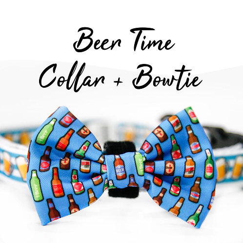Collar + Bow – Beer Time