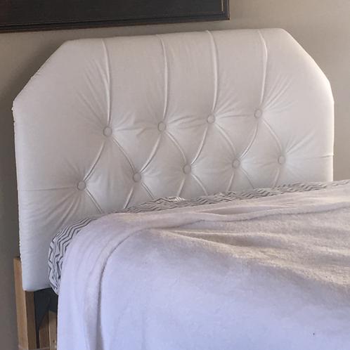Deck'd Out Dorms White Faux Leather