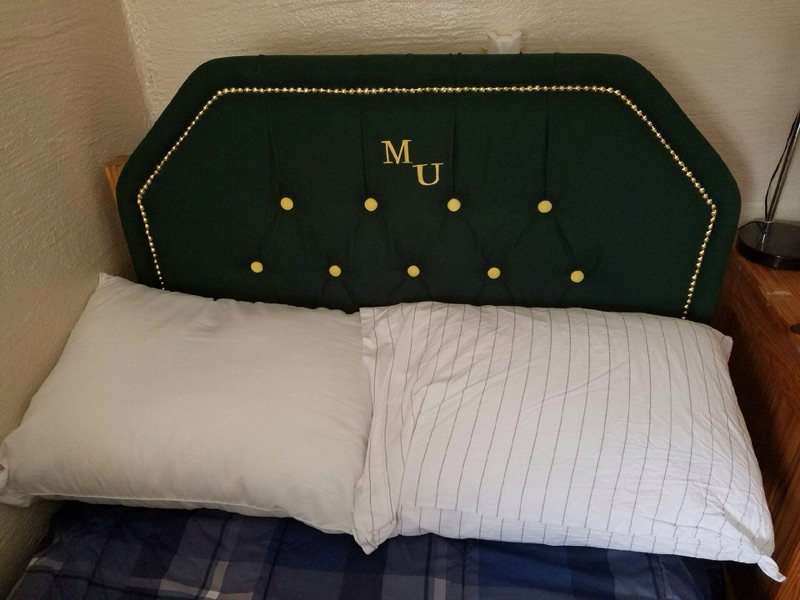 Green N Gold with initials