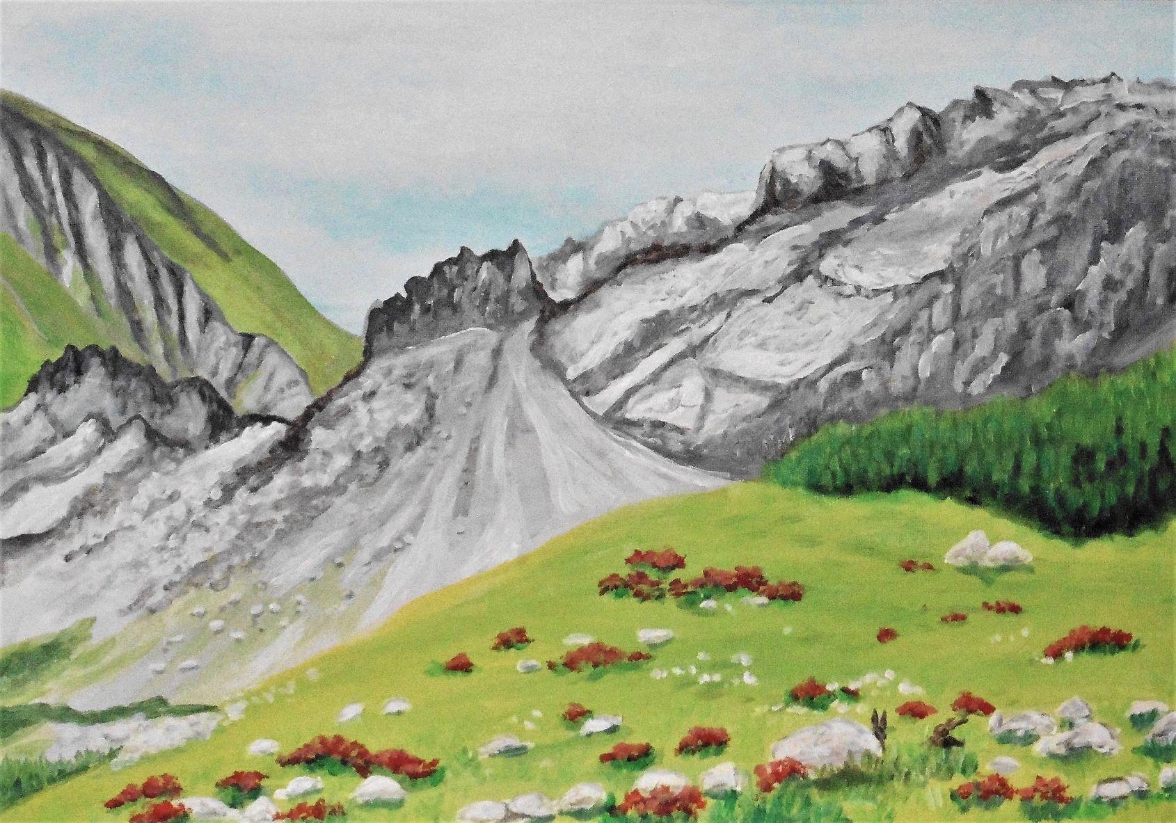 Richtung Zugspitze unterwegs