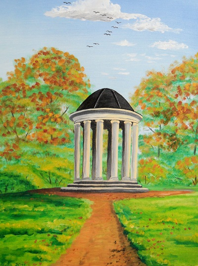 Ionische Tempel im Georgium Dessau