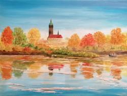Herbst an der Wittenberger Elbe