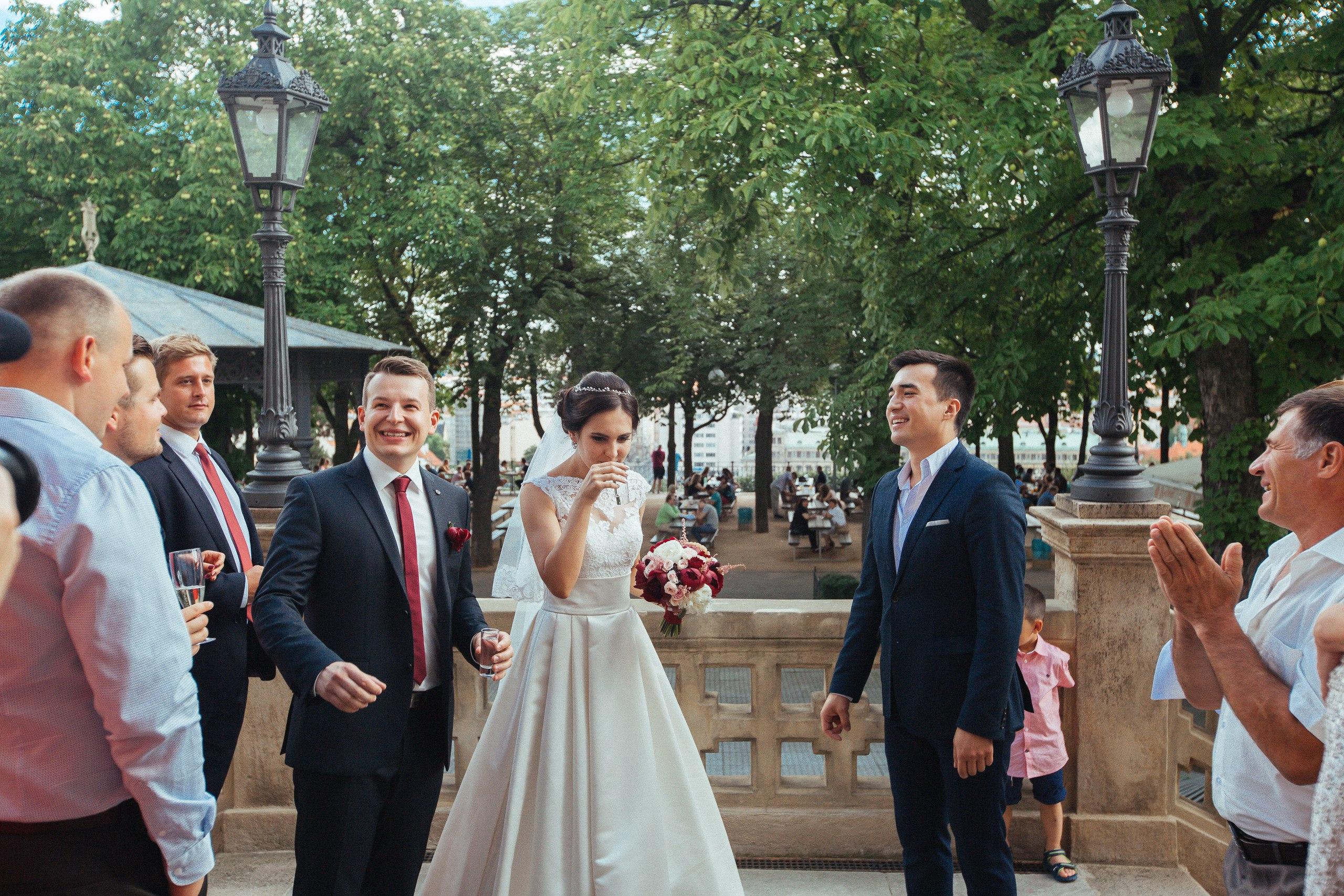 Свадьба в Праге (Letenský Zámeček)