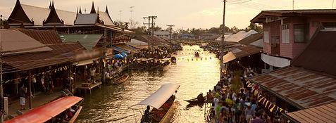 marché flottant amphawa - thailande actualite