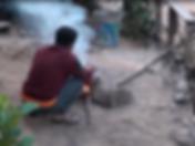 cuisine au feu de bois laos - voyages thailande circuit