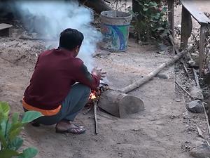 cuisine feu de bois laos - organisateur voyage thailande