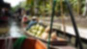 marché flottant bangkok - thailande sejours