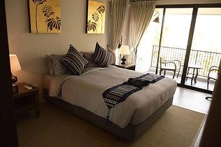 chambre hotel chiang khong - thailande vacance