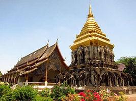 wat chiang man - thailande vacance