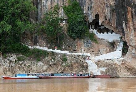grottes de pak ou - thailande vacance