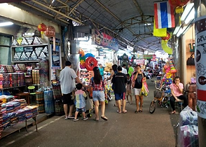marché tha adet nong khai - thailande vacance