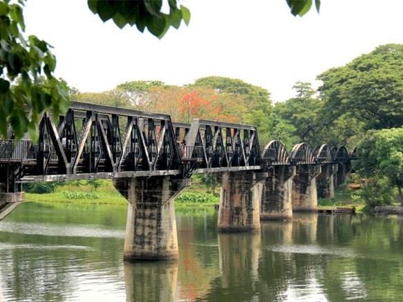 pont de la rivière kwai - organiser son voyage en thaïlande siam-holidays.com
