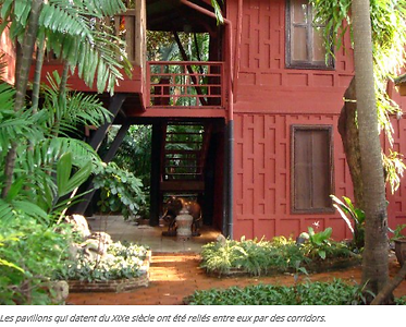maison de jim thompson a bangkok - guide touristique thailande