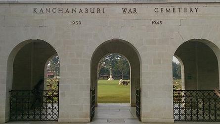 cimetière militaire kanchanaburi - thailande vacance