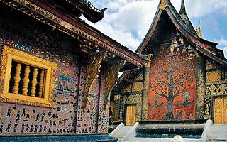 temple luang prabang - thailande vacance