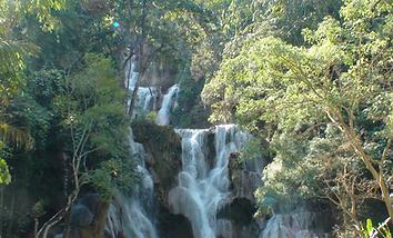 kuang si falls luang prabang - organiser voyage thailande