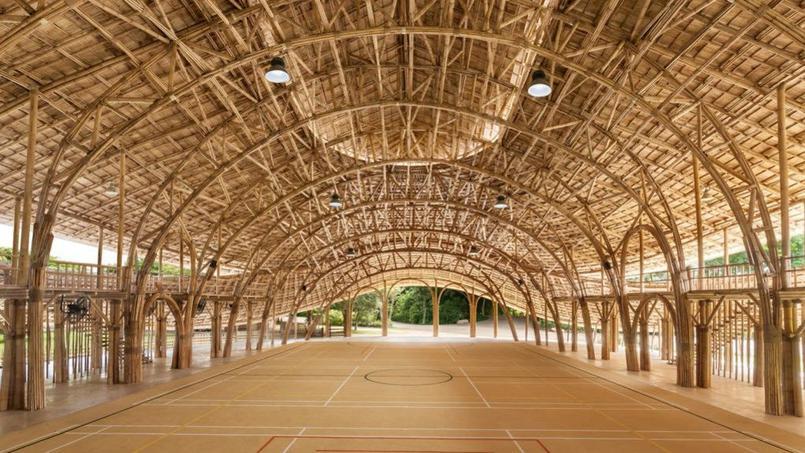 gymnase en bambous