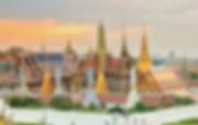 vue du grand palais bangkok - voyages thailande circuit
