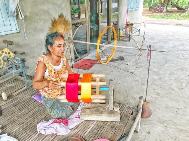 organiser son voyage en thailande-soie thailandaise