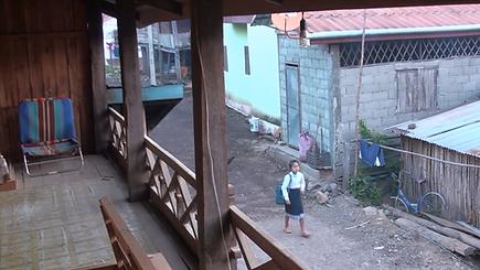 nuit village fermier laos - thailande actualite