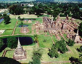 sukhotai - thailande vacance