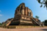 wat chedi luang - voyages thailande circuit