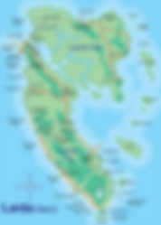 carte koh lanta - blog voyage thailande