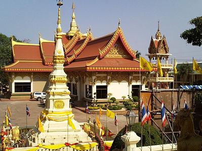temple chinois nong khai - thailande vacance