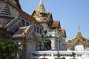 le grand palais salle du trone - thailande vacance