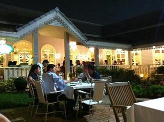 terrasse secret garden - thailande actualite