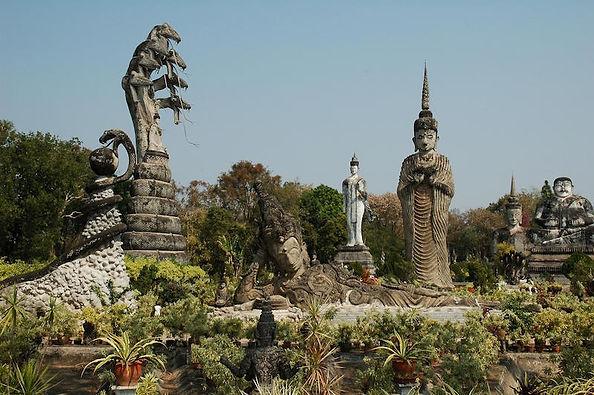 parc sala keoku nong khai - voyages thailande circuit