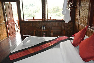 chambre hotel pakbeng - thailande vacance