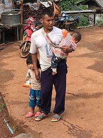 famill tribu thailande - thailande vacance