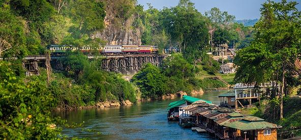 train de la mort - thailande vacance