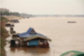 restaurant flottant nong khai - guide touristique thailande