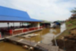 restaurant flottant nong khai - voyages thailande circuit