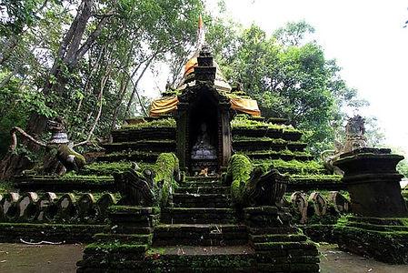 wat phra lat - thailande vacance