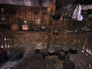 maison trditionnelle akha mae salong -  voyages thailande circuit