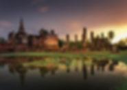 historical park sukhotai - voyages thailande circuit