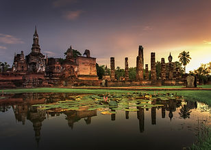 historical park sukhotai - thailande vacance